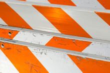 Orange Construction Barriers