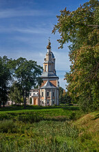 Our Lady Of Kazan Church. City Of Uglich, Russia. Built In 70-ies Years Of XVIII Century