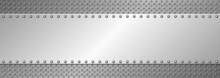Long Metallic Banner