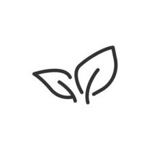 Plant Minimal Line Icon.