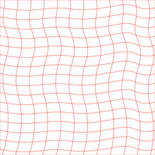 Background Of Wavy Lines On A White Background