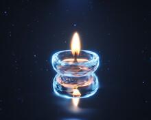 Diwali Lamp 3d Render