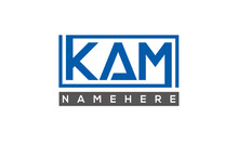 KAM Creative Three Letters Logo