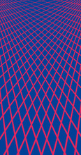 Abstract, Shapes Royal Blue, Rose Red Wallpaper Background