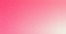 Abstract, Shapes Hexagon, Line, Dark Pink, Pink, Light Pink, Gradient Wallpaper Background Vector Illustration