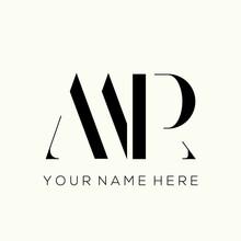 MR Monogram Logo.Typographic Signature Icon.Letter M And Letter R.Lettering Sign Isolated On Light Fund.Wedding, Fashion, Beauty Serif Alphabet Initials.Elegant, Luxury Style.