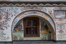 Monastery Christian Church Wooden Window