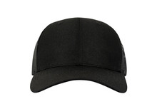 Black Mesh Cap Isolated On White Background