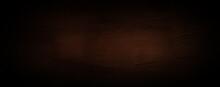 Dark Black Brown Abstract Background For Wallpaper, Header, Banner, Website, Print