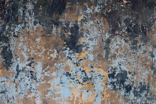 Rustic Urban Concrete Wall With Decayed Grunge Paint Effect