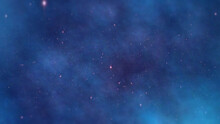 Background Of Space Universe With Stars And Galaxies