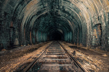 An Old Abandoned Railway Tunnel Decayed For Decades A Lost Place