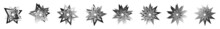 Star, Starlet Shape, Element Vector