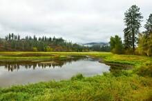 Small Pond In North Idaho.