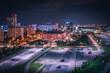Nocna panorama Katowic | Górny Śląsk, Katowice