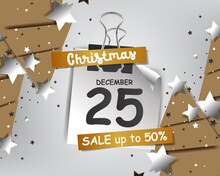 Abstract Flash Sale Framing For Christmas Background