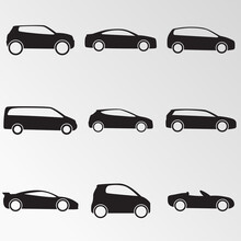 Vector Illustration On The Theme Cars