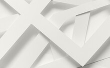 Abstract Background, White Elements In Blank Space