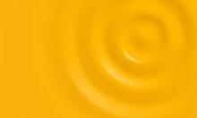 Yellow Creamy Or Gold Cream Vector Background