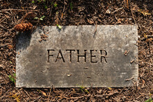 Father Grave Marker