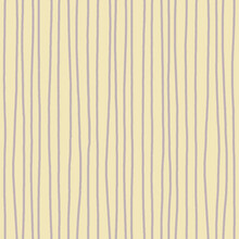 Vertical Rough Purple Stripes On Pale Taupe Background. Seamless Pattern. For Gift Wrap, Textile, Wallpaper, Packaging And Stationary Design.