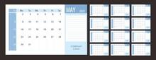 Calendar Or Planner 2022 Template