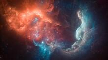 Space, Nebula, Clouds