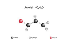 Molecular Formula Of Acrolein. Acrolein, The Smallest Unsaturated Aldehyde. It Is A Colorless Liquid With A Pungent Odour.