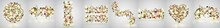 Gold Kintsugi Cover Design. Gold Kintsugi Cover Design Vector. Luxury Golden Marble Texture. Marble Texture. Luxury Design For Wall Art, Wallpaper, Wedding Card, Social Media. Modern Vector Illustrati