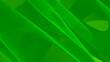 canvas print picture - Hintergrund abstrakt 8K grün hellgrün dunkelgrün Wellen Linien Kurven Verlauf