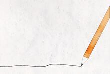 Illustration : Arrière Plan Aquarelle Avec Crayon