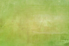 Earthly Green Painted Canvas Backdrop