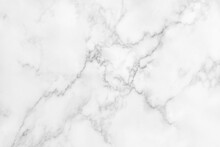 White Marble Texture For Background Or Tiles Floor Decorative Design.