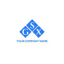 GSX Letter Logo Design On White Background. GSX Creative Initials Letter Logo Concept. GSX Letter Design.