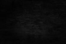 Black Wood Plank Texture Background