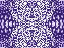 Snakeskin Repeat. Purple Cloth Textile