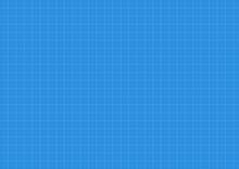 Blueprint Background, Graph Paper, Vector Blue Print, Pattern Grid