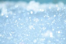 Magical Airy White And Blue Background.