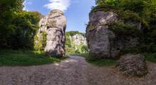 Rocks In Ojcow National Park