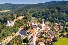 Castle, Rozmberk Nad Vltavou, South Bohemia, Czech Republic