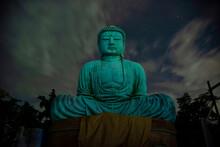 The Great Buddha (Daibutsu) On The Grounds Of Kotokuin Temple In Kamakura, Japan