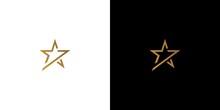 Modern And Luxury Seven Stars Logo Design