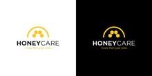 Simple And Modern Honey Care Logo Design