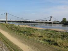 Pont D' Ancenis, Loire-Atlantique, Pays De La Loire, France, Bords De Loire, La Loire à Vélo