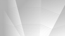 Grey Curved Refracted Geometric Lines Tech Background