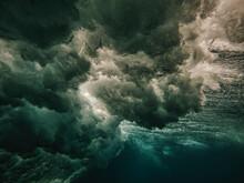 Ocean Wave Texture, Underwater View