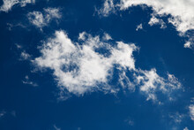 White Cloud Texture. Air Material Backdrop. Sky Effect Pattern.