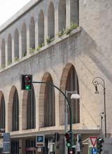 Termini Station, Central Railway Station, Public Transportation, Rome, Italy.