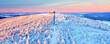 canvas print picture - Fichtelberg Gipfel im Winter