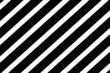 canvas print picture - Muster gestreift: Streifen in schwarz und weiß
